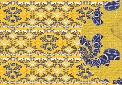 Teppichboden drucken mit Zeichen, Symbole, Icons, Muster